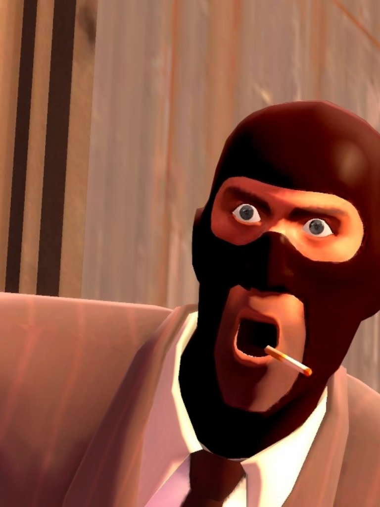 Free Download Spy Tf2 Team Fortress 2 Cigarettes 1024x768