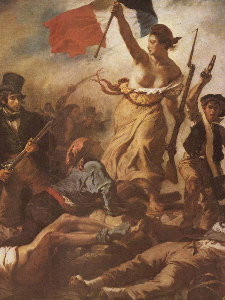 Free Download Liberty Leading The People Delacroix Eugene