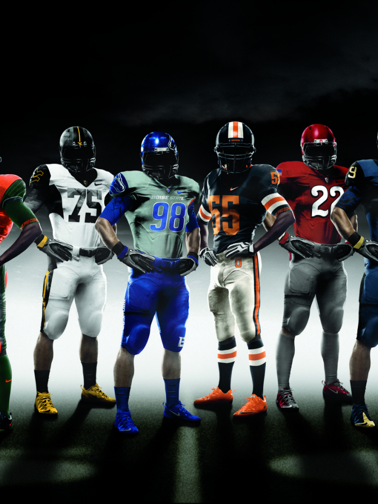 9a10ff9e College Football Wallpaper NCAA Nike Pro combat in 2010 HD. ← College  Wallpaper. College Football Wallpaper NCAA Nike Pro combat in 2010 ...