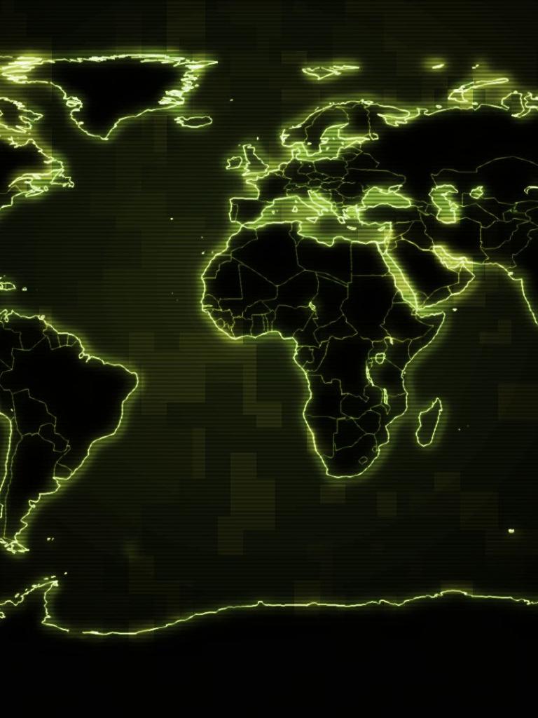 Free Download World Map Wallpaper 1920x1080 42418 High