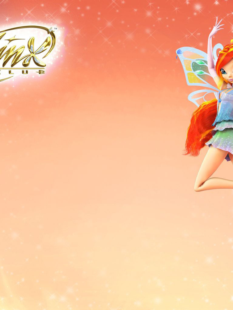 NEW WINX CLUB Bloom Magic is in You cushion cover 40x40cm