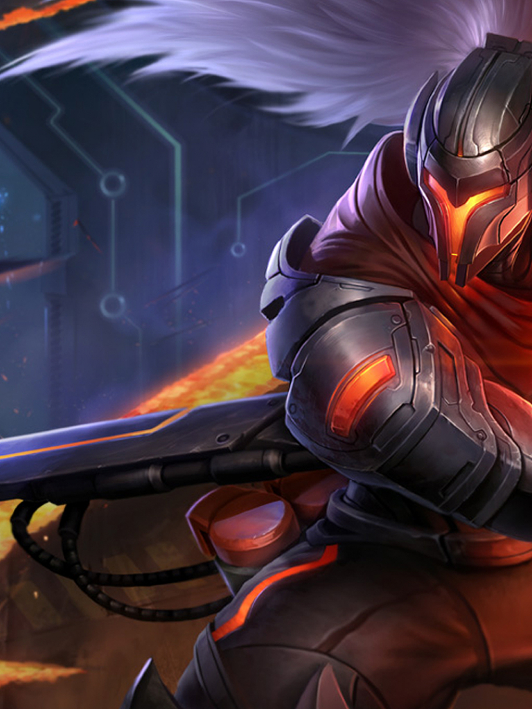 Free Download Lol Project Yasuo Wallpaper 1369204 1920x1080