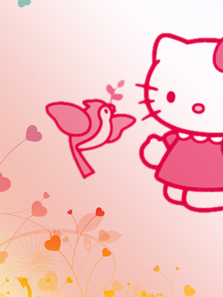 Free Wallpaper Hello Kitty Imut Dan Lucu [