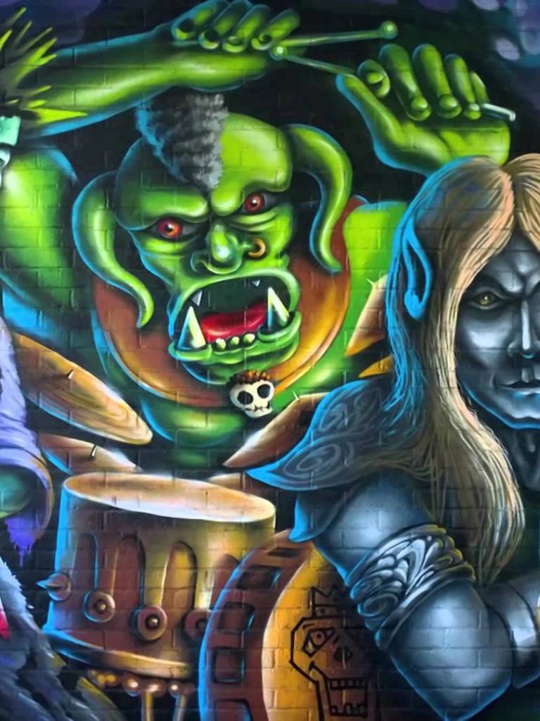 Free Download Colorful Abstract Graffiti Wallpaper Hd