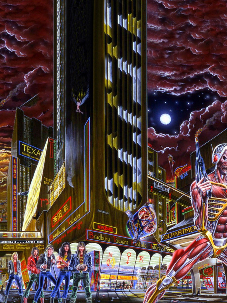 Free Download Iron Maiden Somewhere In Time 1986 Play It