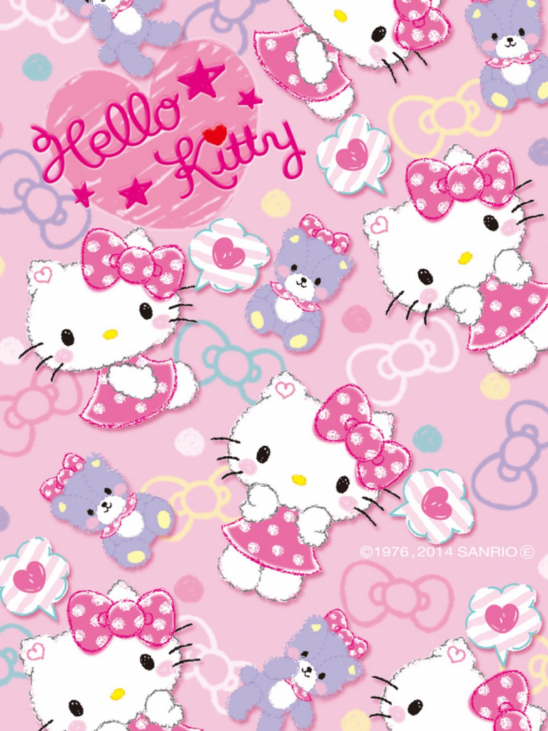 Free Download Hello Kitty Wallpaperby Artist Unknown Hello Kitty