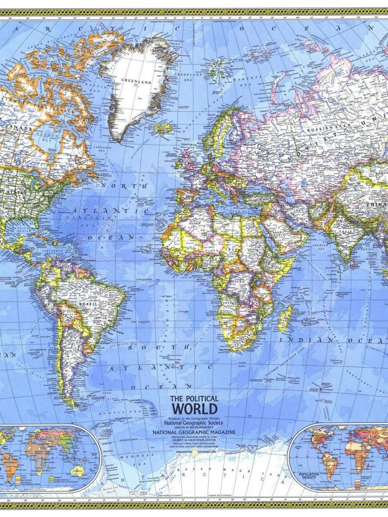 Free GoSeekit Image Desktop Background World Map