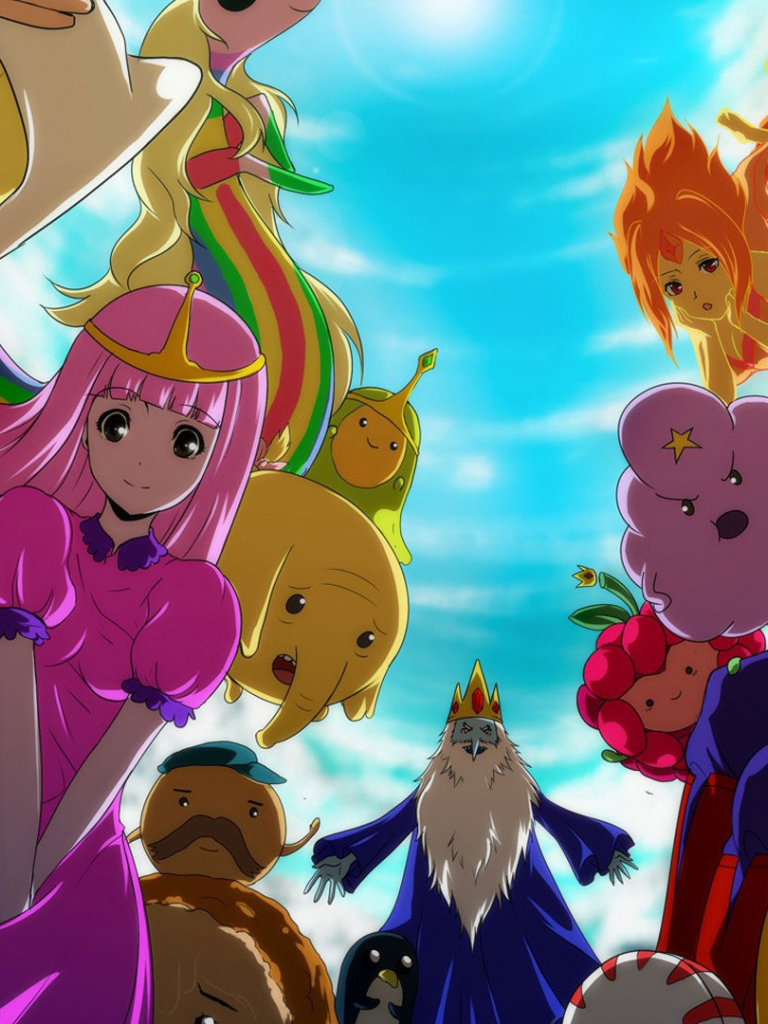 Anime Adventure Time Pictures free download anime adventure time adventure time wallpaper