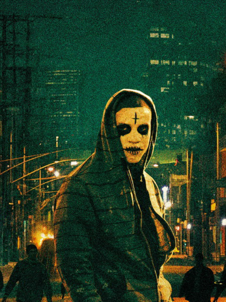 Free Download Download Wallpaper 3840x1200 The Purge Anarchy Frank