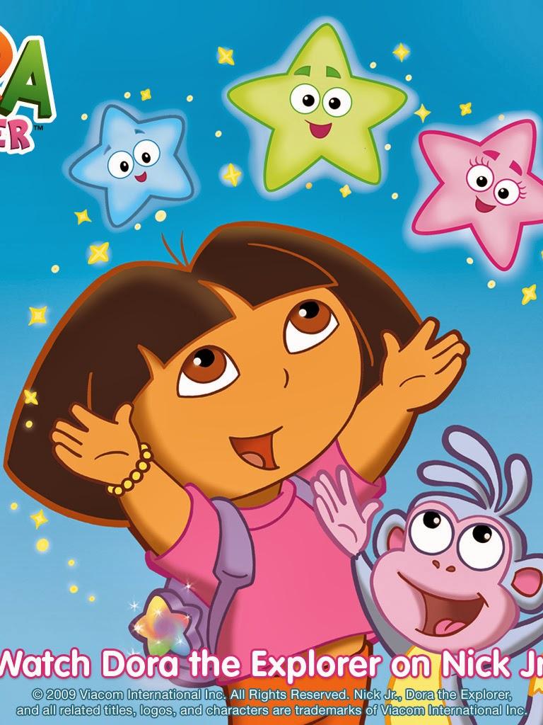 Free Dora The Explorer Coloring Books, Download Free Clip Art ... | 1024x768