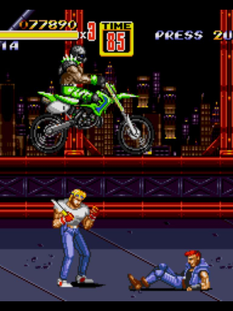 Free Download Streets Of Rage 2 Axel Wallpaper Sega Wallpapers