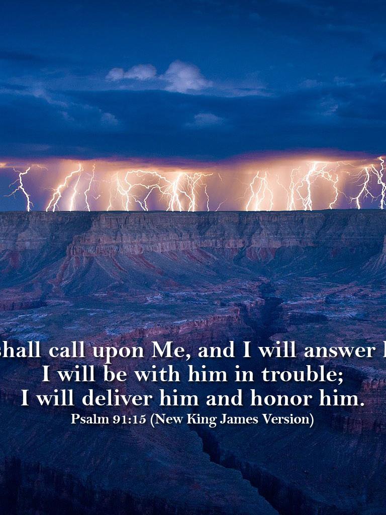Download nkjv psalm 9115 wallpaperjpg [1280x1024] | 50+ Psalm 91