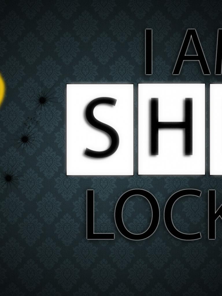 Free Download Am Sherlocked Iphone Wallpaper I Am Sherlocke