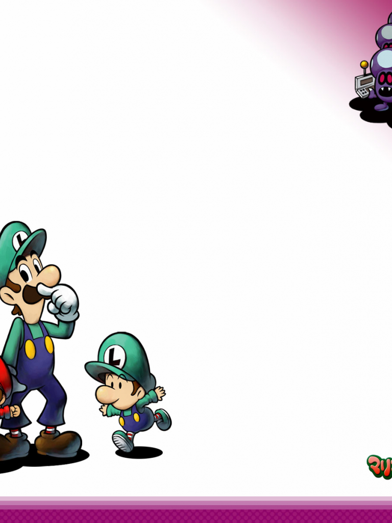 Free Download Mario Amp Luigi Partners In Time Wallpapers