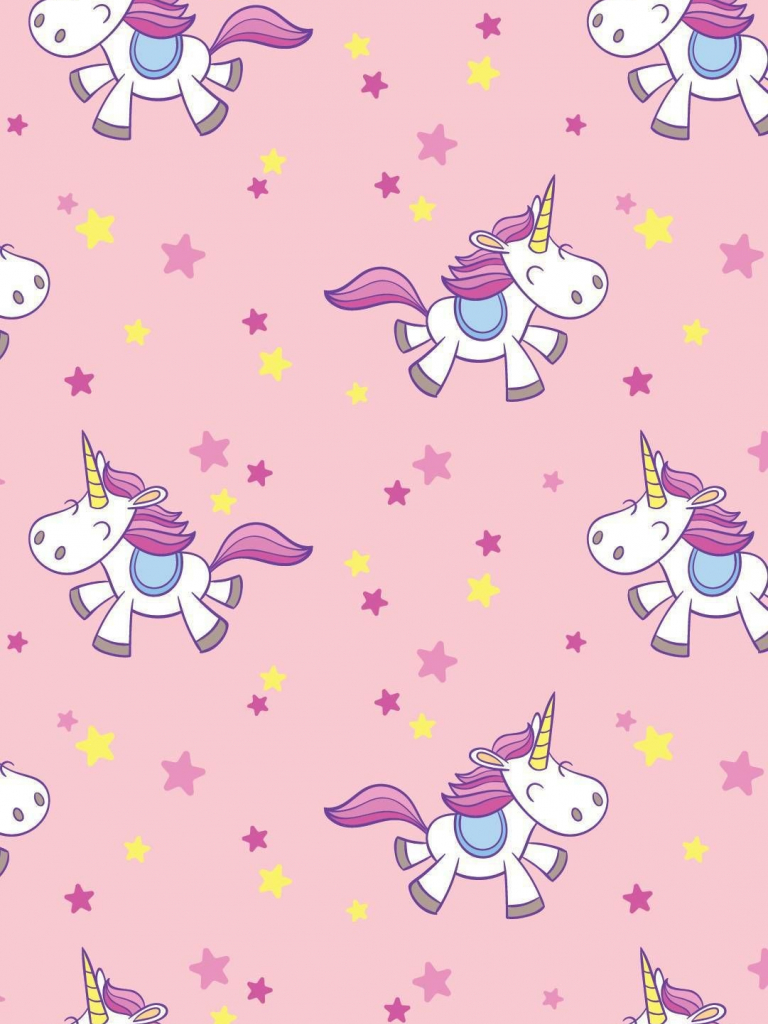 Free Cartoon Unicorn Wallpaper 38 Group Wallpapers