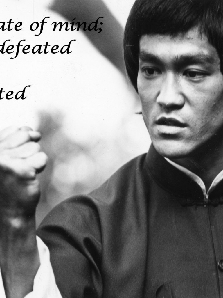 Free Download Lee Bw Defeat Martial Art Text Quotes Black White Wallpaper Background 1920x1080 For Your Desktop Mobile Tablet Explore 47 Martial Arts Screensavers And Wallpapers Free Fine Art