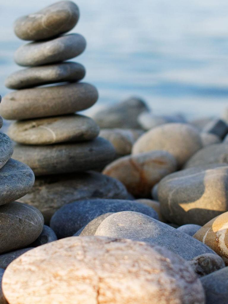 Beach Rocks Zen Macro iPhone 6 ...