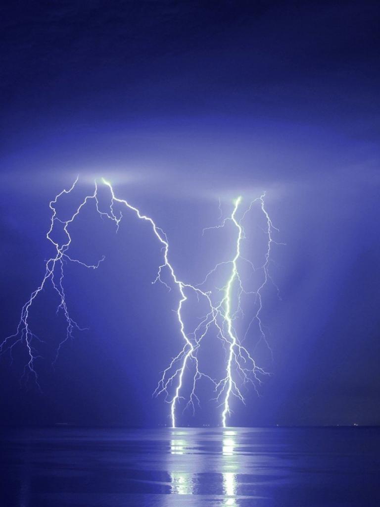 Free download Blue Thunder Background Lightning thunder ...