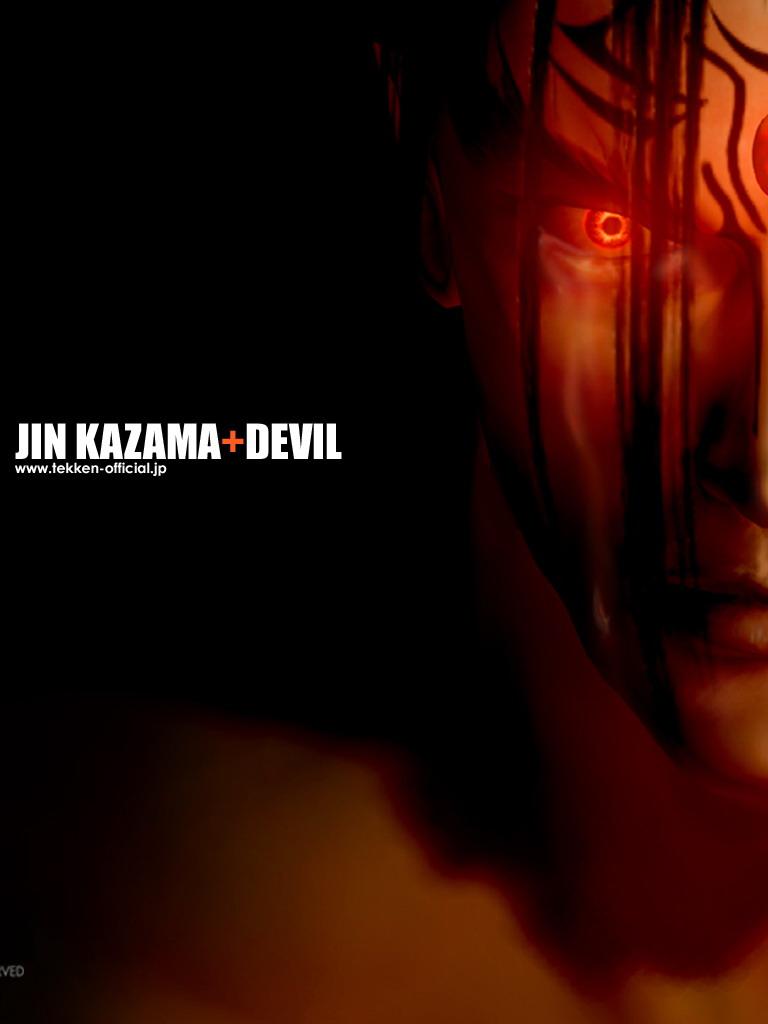 Free Download Jin Kazama Devil Tekken 4 Wallpaper Jin Kazama Devil