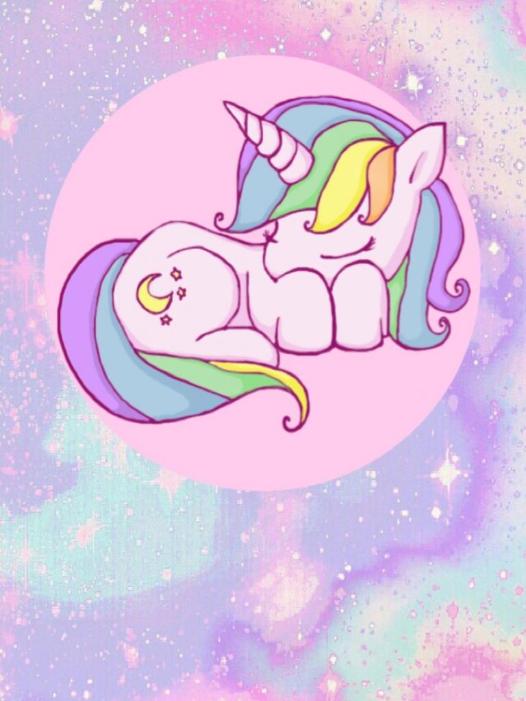 Free 73 Cartoon Unicorn Wallpapers On WallpaperPlay
