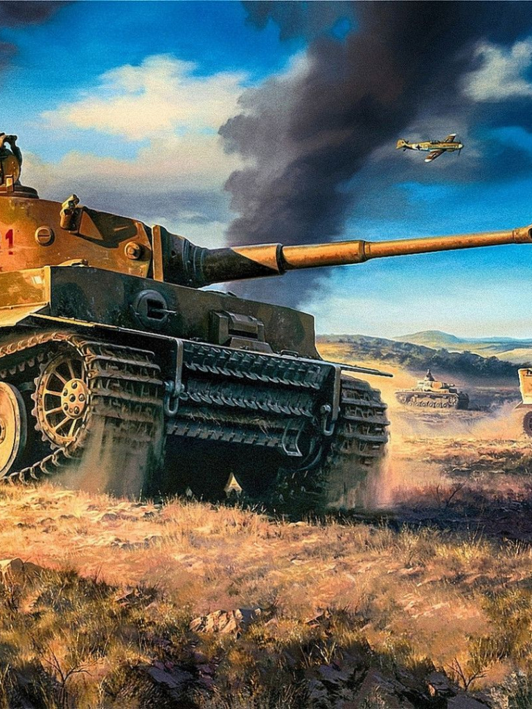 Free download Images For Tiger Tank Wallpaper [1920x1080 ...