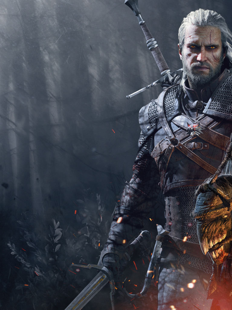 Free Download The Witcher 3 Wild Hunt Geralt Trophies