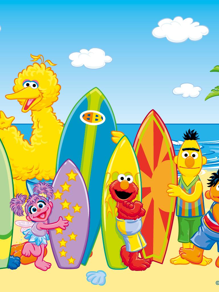 Free Download Sesame Street Summer 1280x1024 For Your Desktop