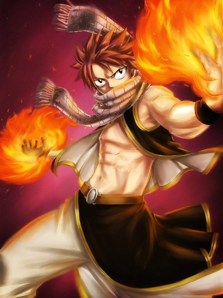 Free Download Natsu Dragneel Fairy Tail Mage Dragon Slayer Anime