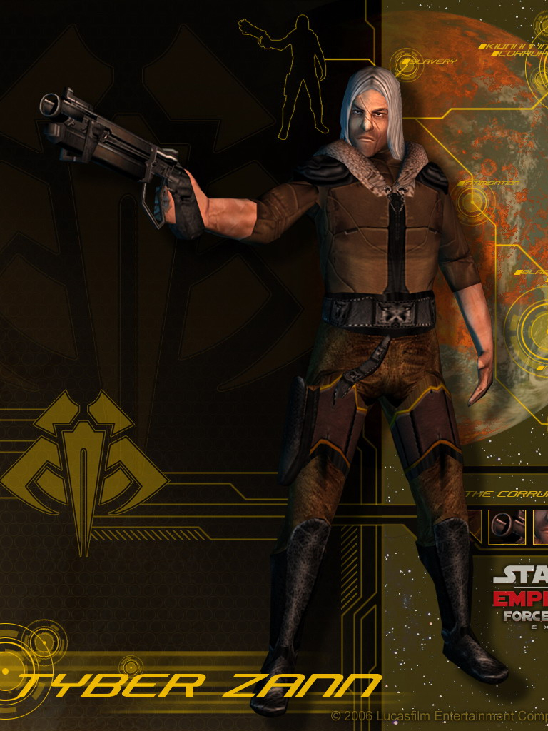 Free download Tyber Zann Star Wars Empire at War Forces of