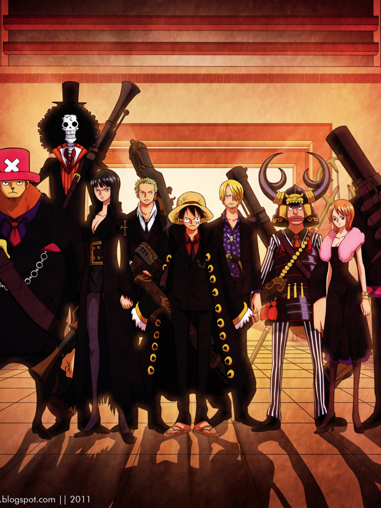 Free Download Hd Wallpapers One Piece Strong World Anime