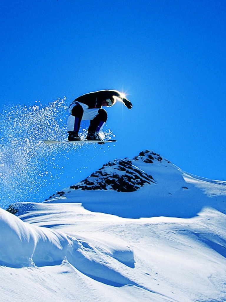 High Resolution Snowboarding Wallpaper