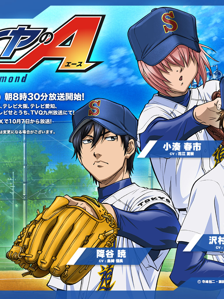 Free Download Daiya No Ace Daiya No Ace Ace Of Diamond Wallpaper