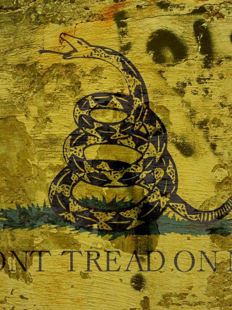 Обои snake, Dont tread on me, Metallica. Музыка foto 8