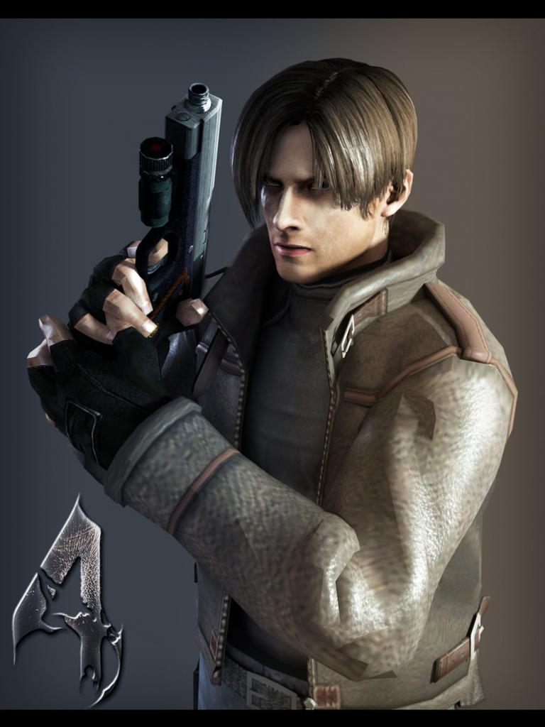 Free Download Resident Evil 4 Leon Wallpaper Resident Evil 4 Leon