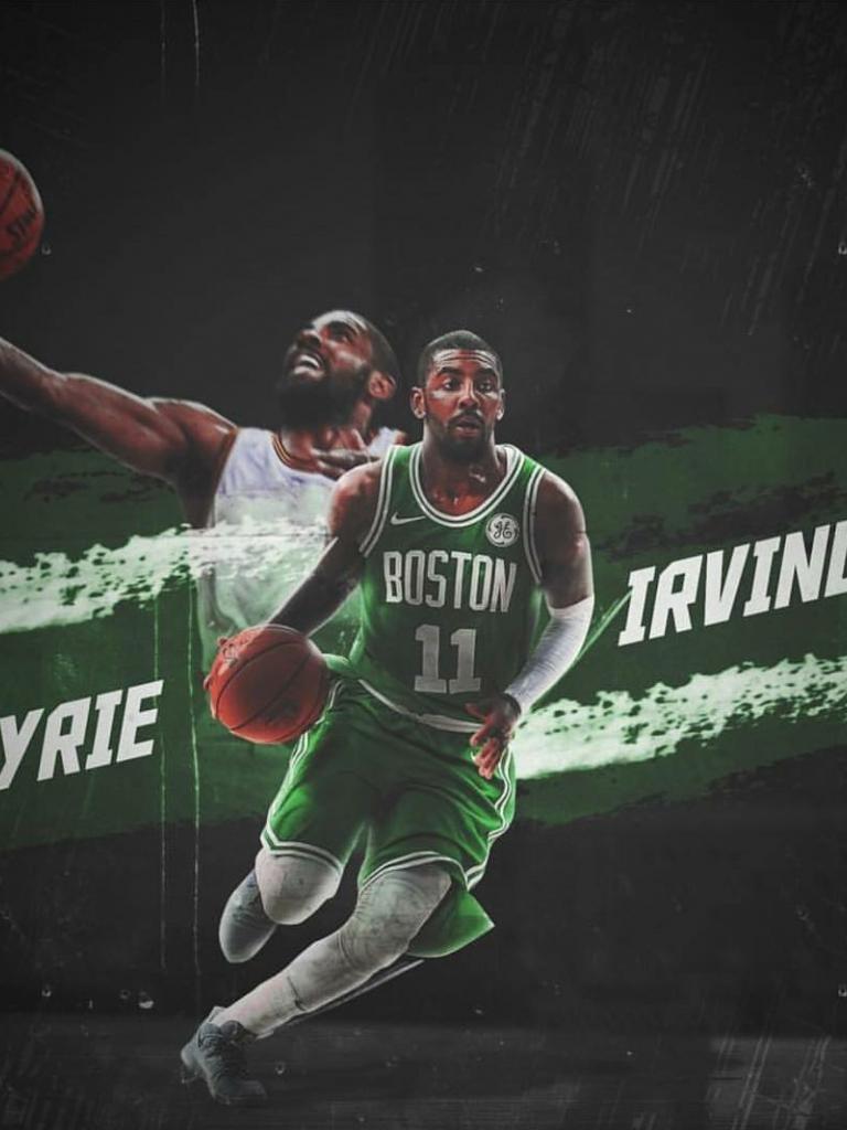 Free Download Kyrie Irving Boston Celtics Edit Basketball