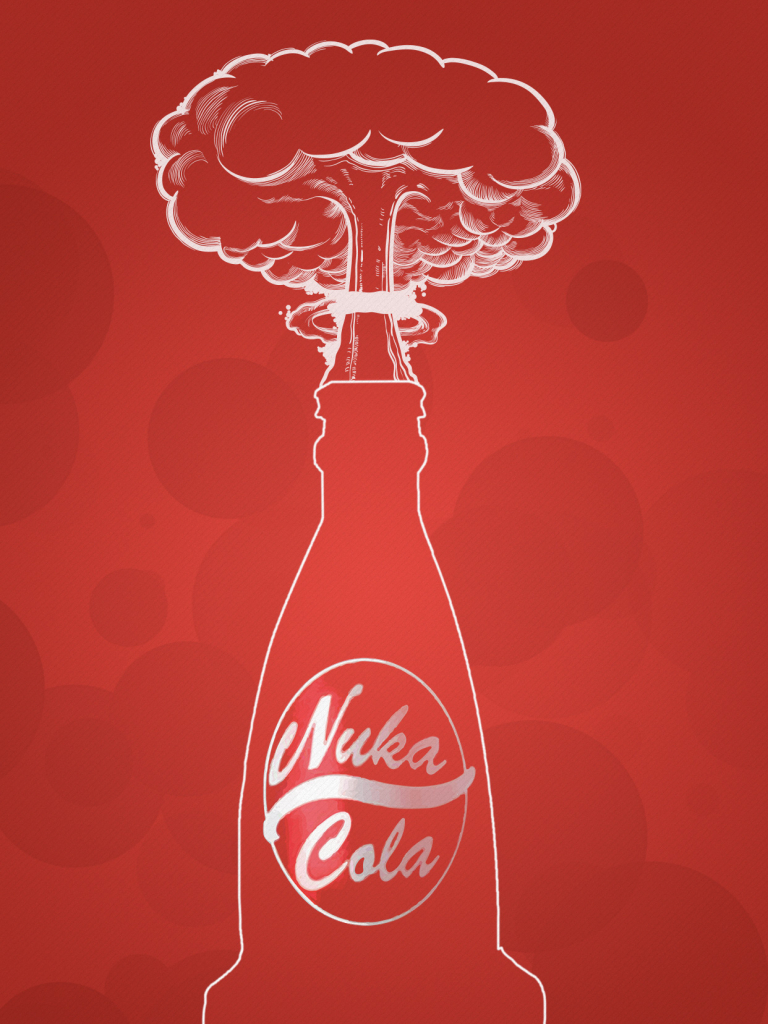 Free Download Fallout 4 Nuka Cola Wallpaper Mobile Phone