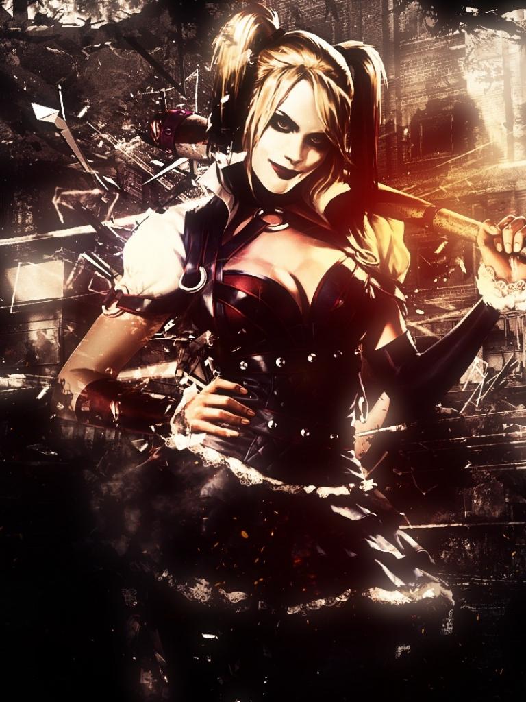 Free Download Harley Quinn Batman Arkham Knight Wallpapers