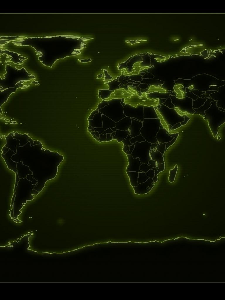 Free World Map Puter Wallpapers Desktop