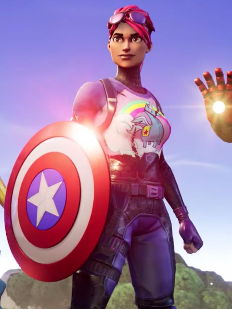 free download fortnite x avengers endgame trailer video