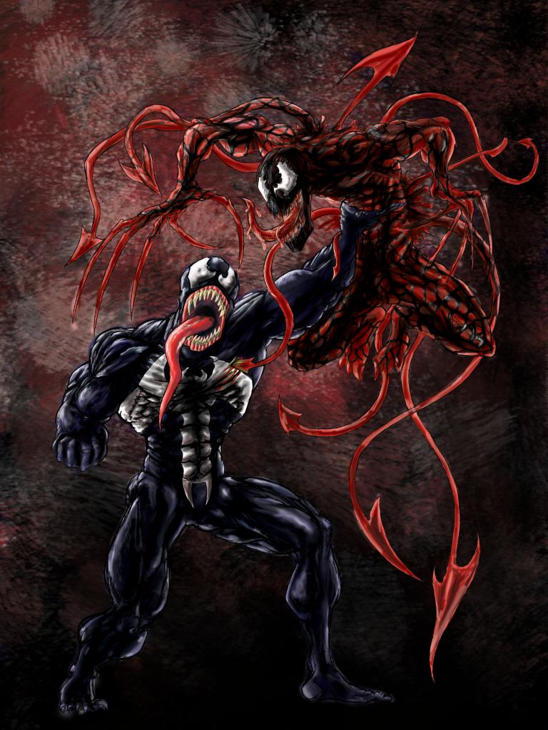 симбионт человек паук картинки некоторых ситуациях голубь