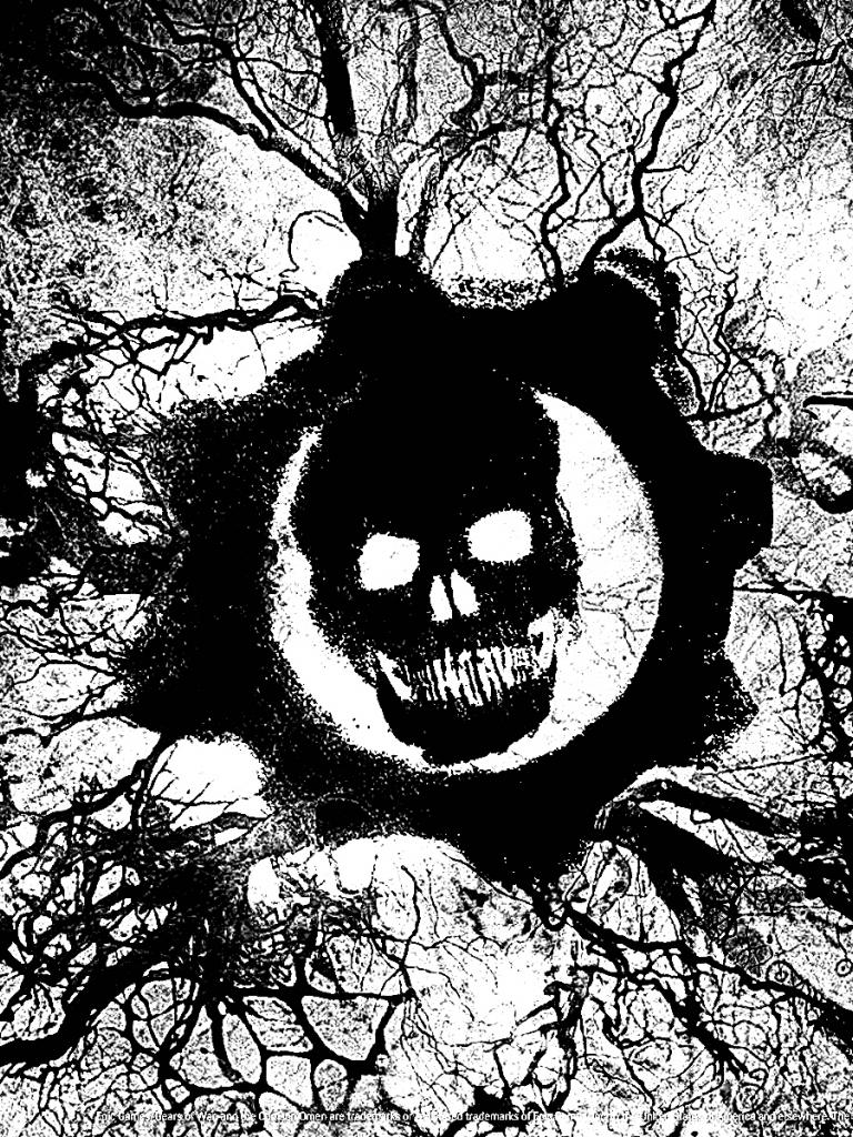 Free Download Wallpaper Hd Gear Of War Logo Gears Of War Logo
