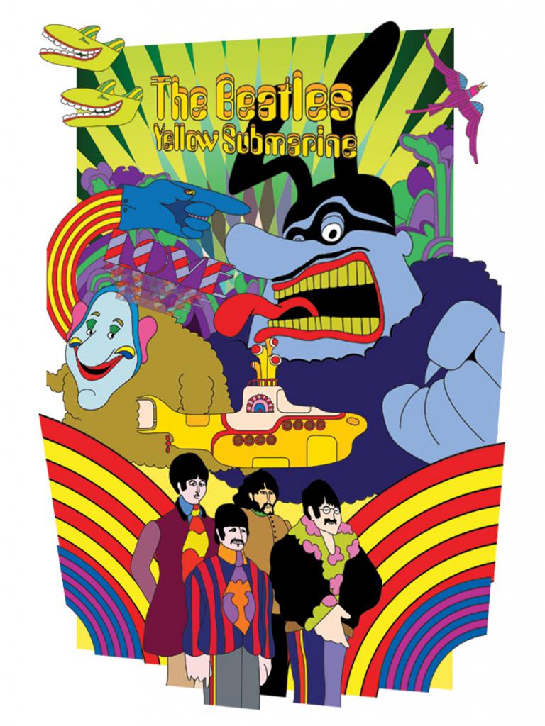Free Download Beatles Yellow Submarine Wallpaper Yellow Submarine