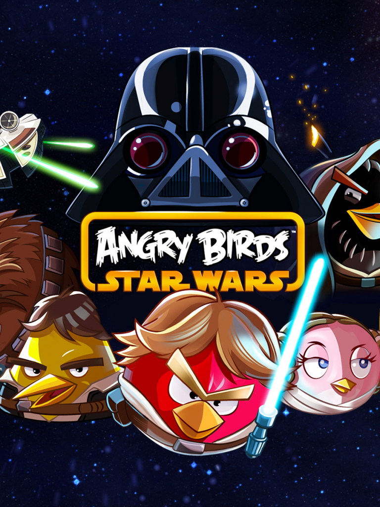 Free Download Angry Birds Star Wars Wallpaper Angry Birds