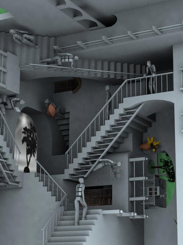 Free Download Illusion Doptique 3d Hd Wallpaper Wallpaper