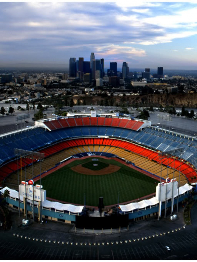 Los Angeles Dodgers Stadium Wallpaper