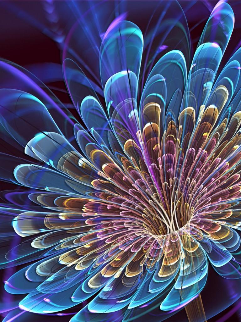 Free download 3D Blooming Flower Widescreen HD Wallpaper ...