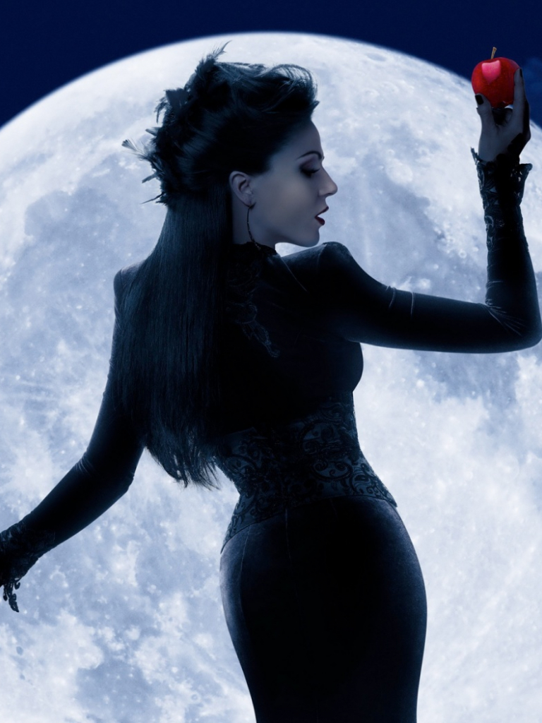 Free Download Evil Queen Regina Once Upon A Time Hd Wallpaper Ihd