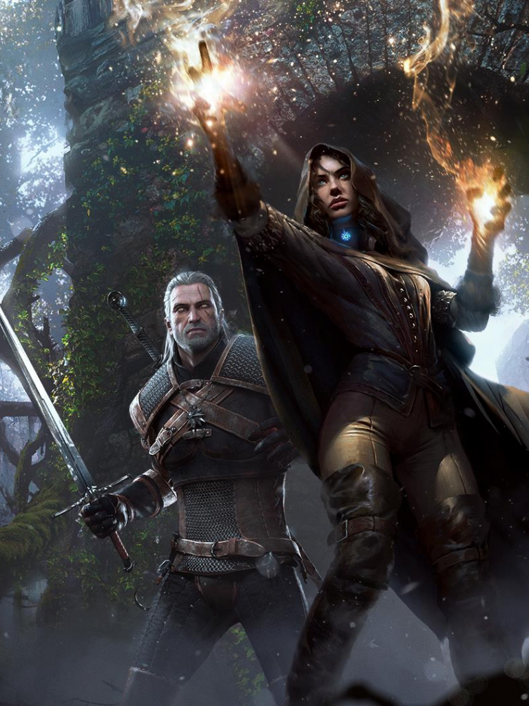 Free Download Wallpapers For Geralt And Yennefer The Witcher 3