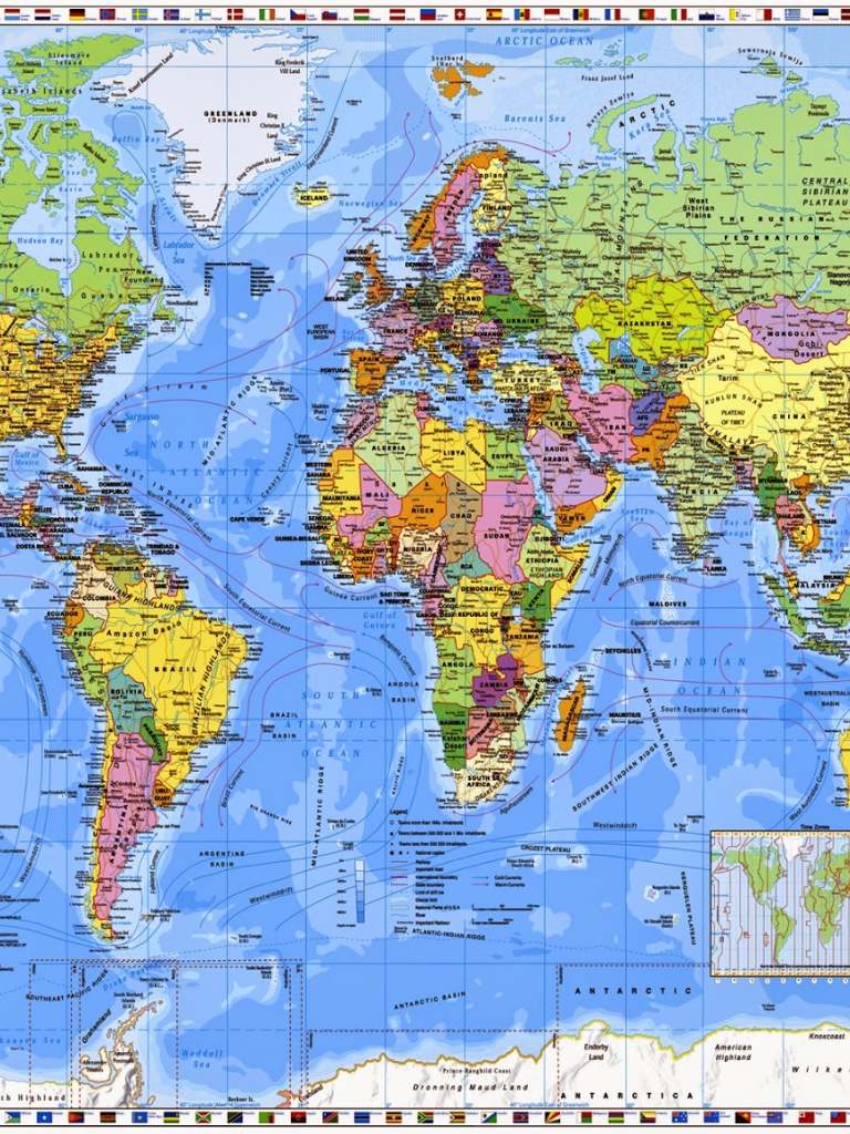 Free World Map Wallpaper Desktop Wallpapers HD