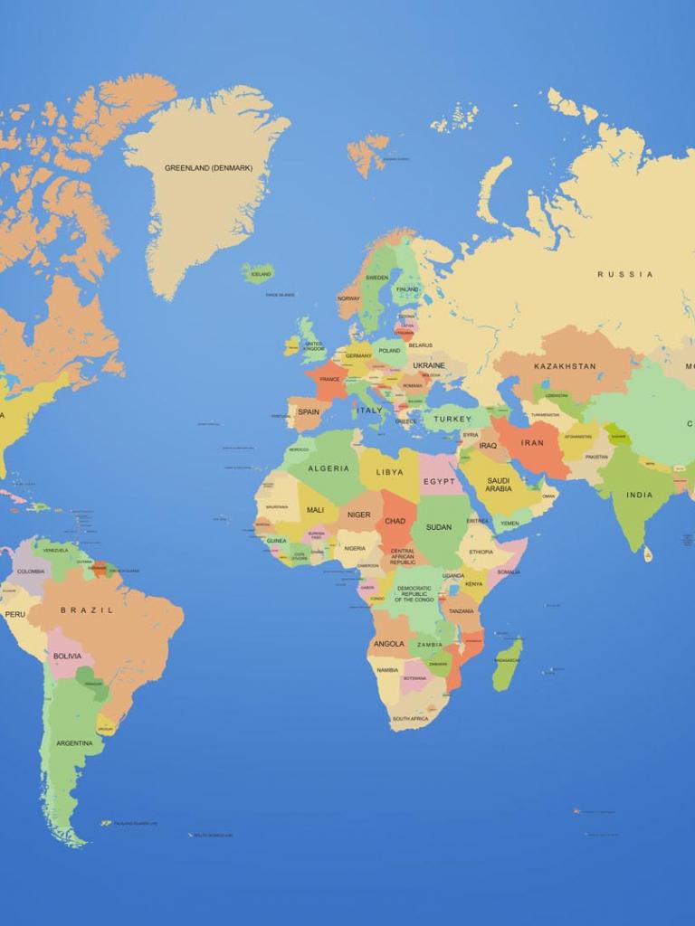 Free Executed World Map Globe World Map Desktop